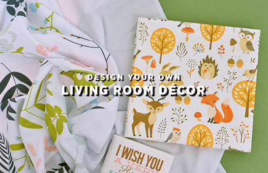 Design your own: Living Room Décor