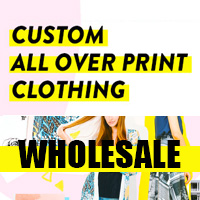 All Over Print Clothing Wholesale
