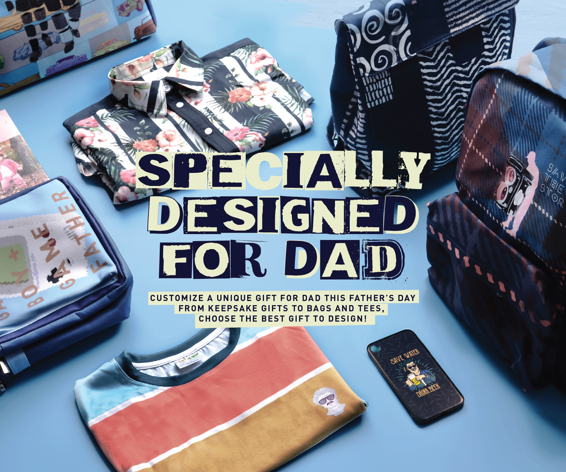 Specially Designed for Dad
