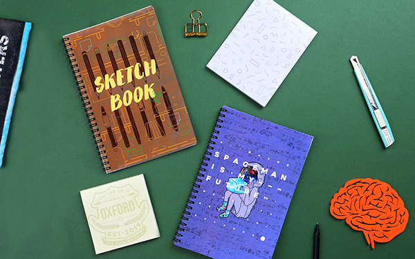 Memo pads and Notebooks