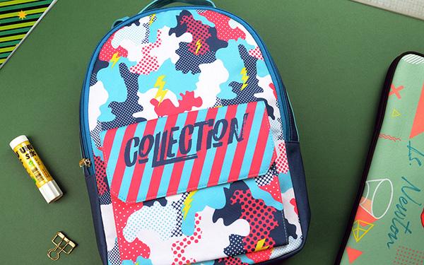 Flap Pocket Backpack