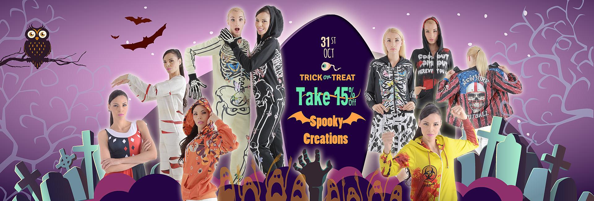 Halloween Sale 2016