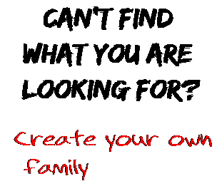 Can't find  what you are  looking for? Create your own  family
