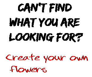 Can't find  what you are  looking for? Create your own  flowers