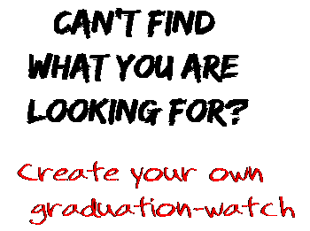 Can't find  what you are  looking for? Create your own  graduation-watch