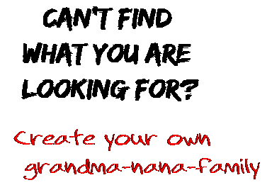 Can't find  what you are  looking for? Create your own  grandma-nana-family