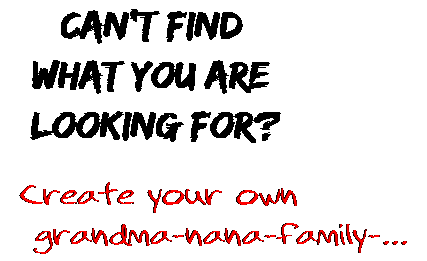 Can't find  what you are  looking for? Create your own  grandma-nana-family-...