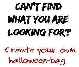 Can't find  what you are  looking for? Create your own  halloween-bag