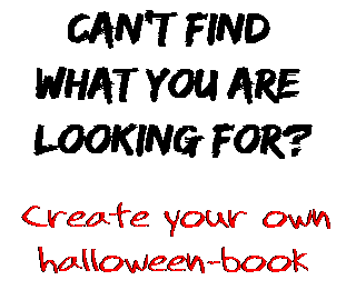 Can't find  what you are  looking for? Create your own  halloween-book