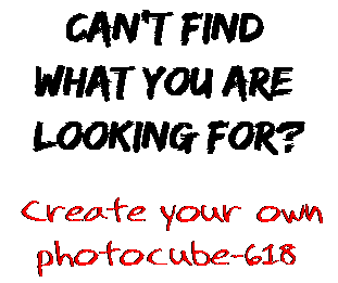 Can't find  what you are  looking for? Create your own  photocube-618