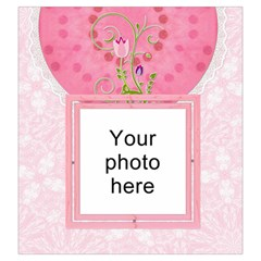 Pretty Pink Large Drawstring Pouch By Lil Back