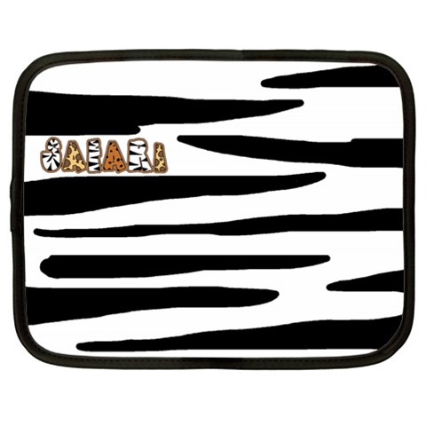 Safari Lg Netbook Case By Catvinnat Front