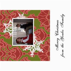 5x7 Christmas Cards 7 x5  Photo Card - 2