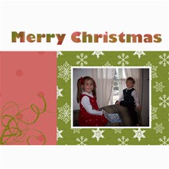 5x7 Christmas Cards 7 x5  Photo Card - 10