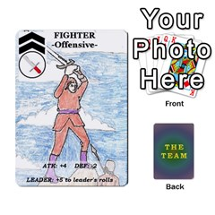 The Team Cards By Tyler Sandersfeld Front - Spade2