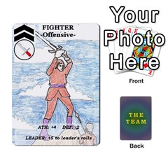 The Team Cards By Tyler Sandersfeld Front - Spade3