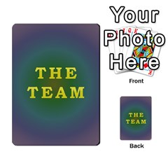 The Team Cards By Tyler Sandersfeld Back