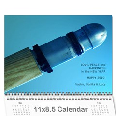 2010 Calendar By Vad Cover