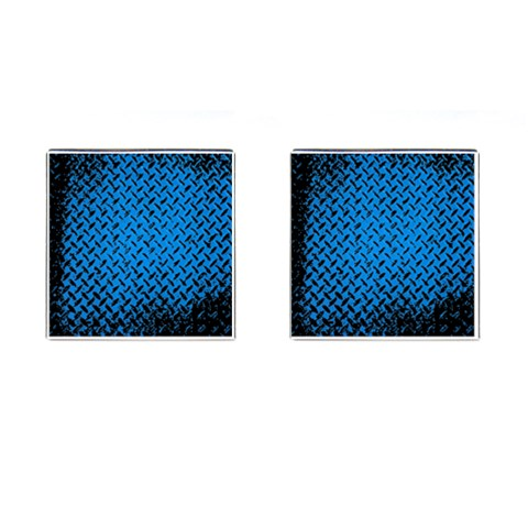 Blue Diamond Plate By Alana Front(Pair)