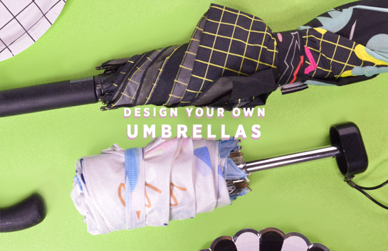 Design your own: Umbrellas