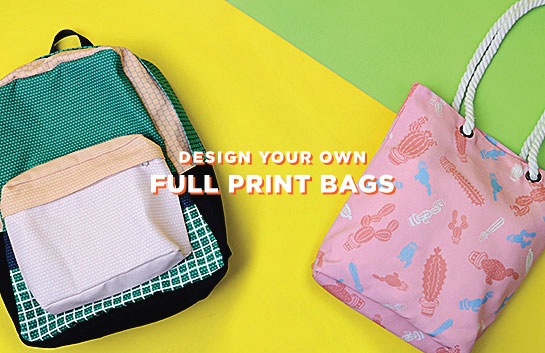 Design your own Full Print Bags