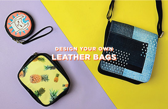 Design your own Leather Bags