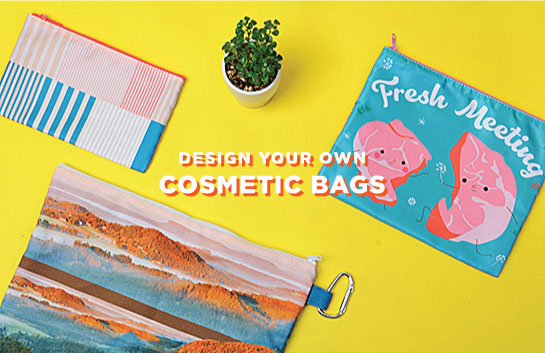 Design your own Cosmetic Bags