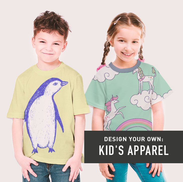 Design your own: Kid's Apparel