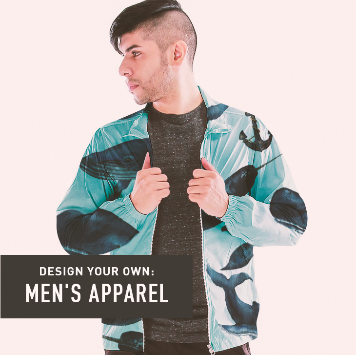Design your own: Men's Apparel