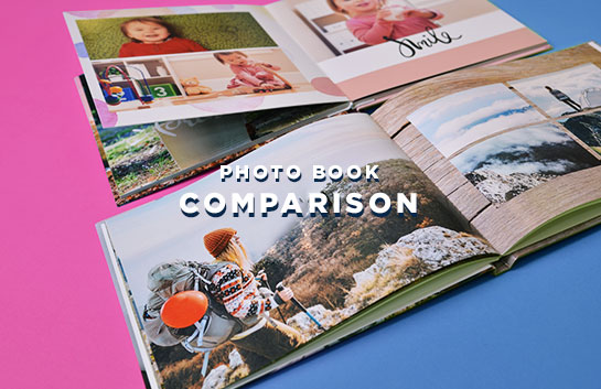 Photo Book Comparison