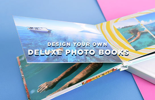 Design your own: Deluxe Photo Books