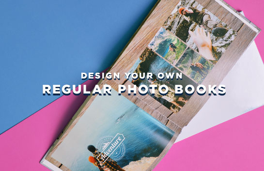 Design your own Regular Photo Books