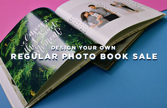 Design your own Regular Photo Book Sale