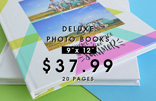 Design your own: 9x12 deluxe photo books