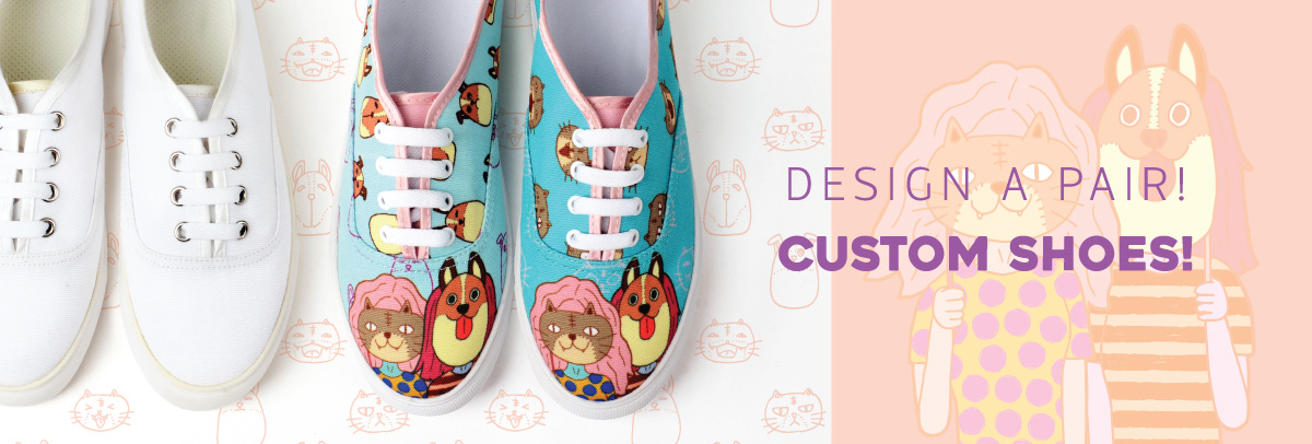 Fully customizable shoes