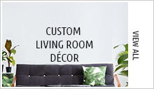 Custom Living Room Décor