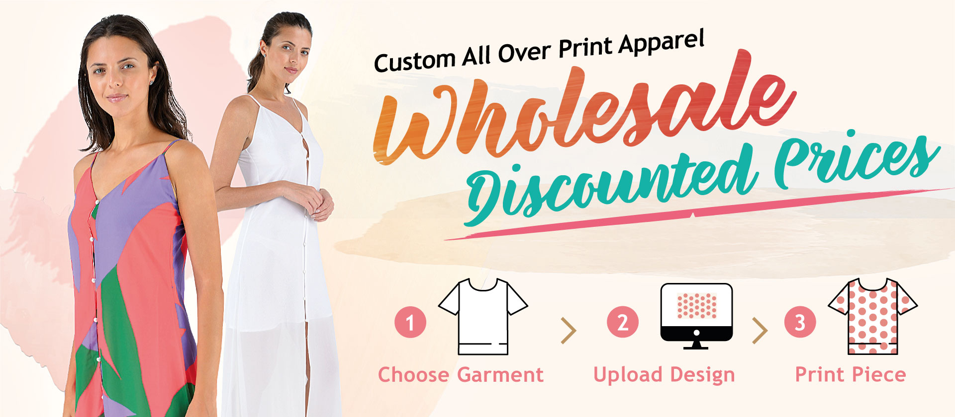 Wholesale all over print apparel
