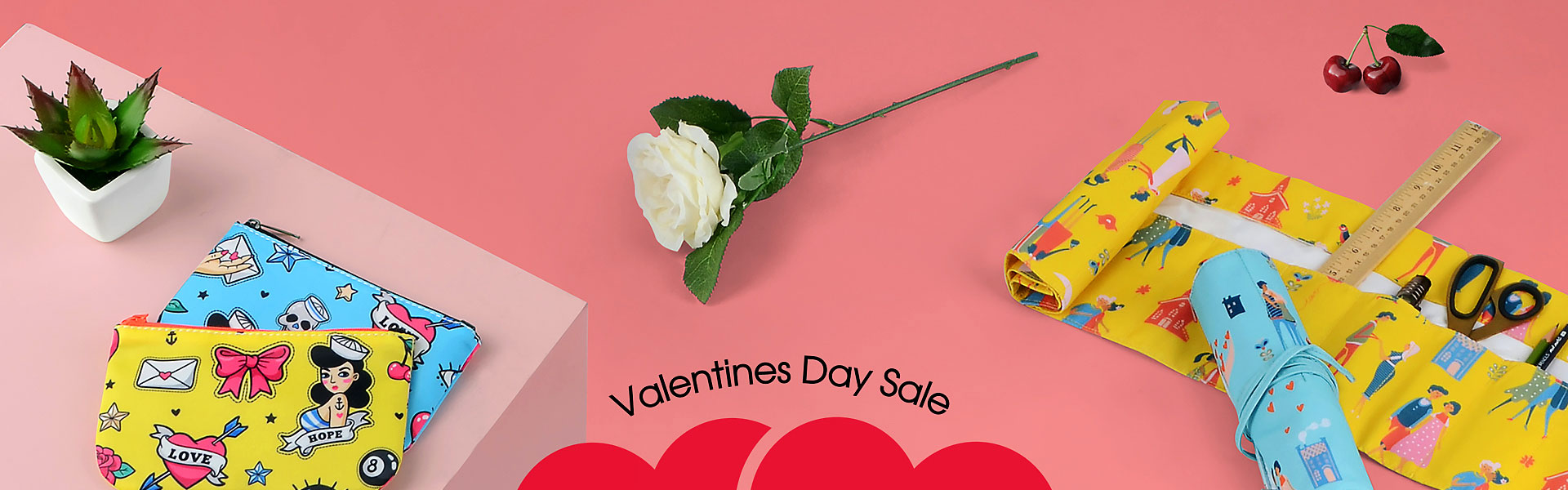 Valentine's Day Sale Buy 1 Free 1 on ArtsCow!