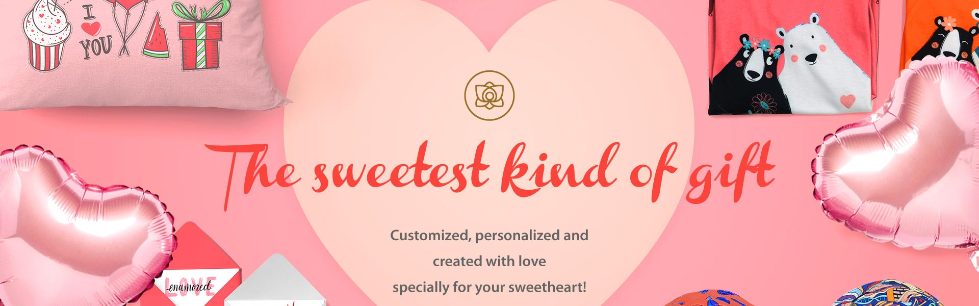 Design a selection of Valentine's Gifts: 2 for $30 with Free International Shipping