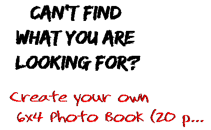 Can't find  what you are  looking for? Create your own  6x4 Photo Book (20 p...