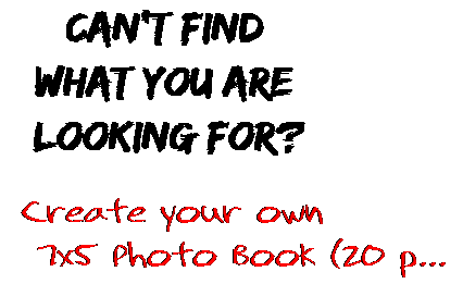 Can't find  what you are  looking for? Create your own  7x5 Photo Book (20 p...