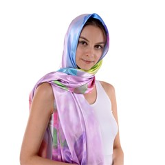Satin Shawl