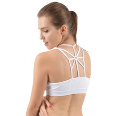Back Web Sports Bra