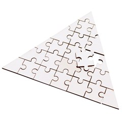 Wooden Puzzle Triangle