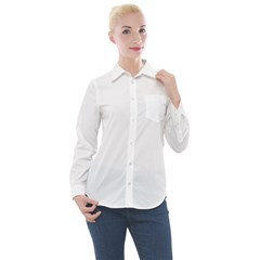 Women s Long Sleeve Pocket Shirt