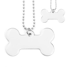 Dog Tag Bone (Two Sides)