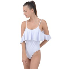 Drape Piece Swimsuit