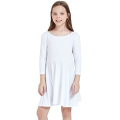 Kids  Quarter Sleeve Skater Dress