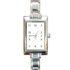 Rectangle Italian Charm Watch