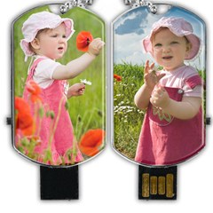 Dog Tag USB Flash (Two Sides)